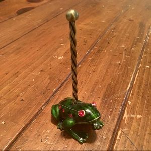 Frog Ring Jewelry Holder